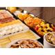Notre buffet copieux pour le petit-déjeuner