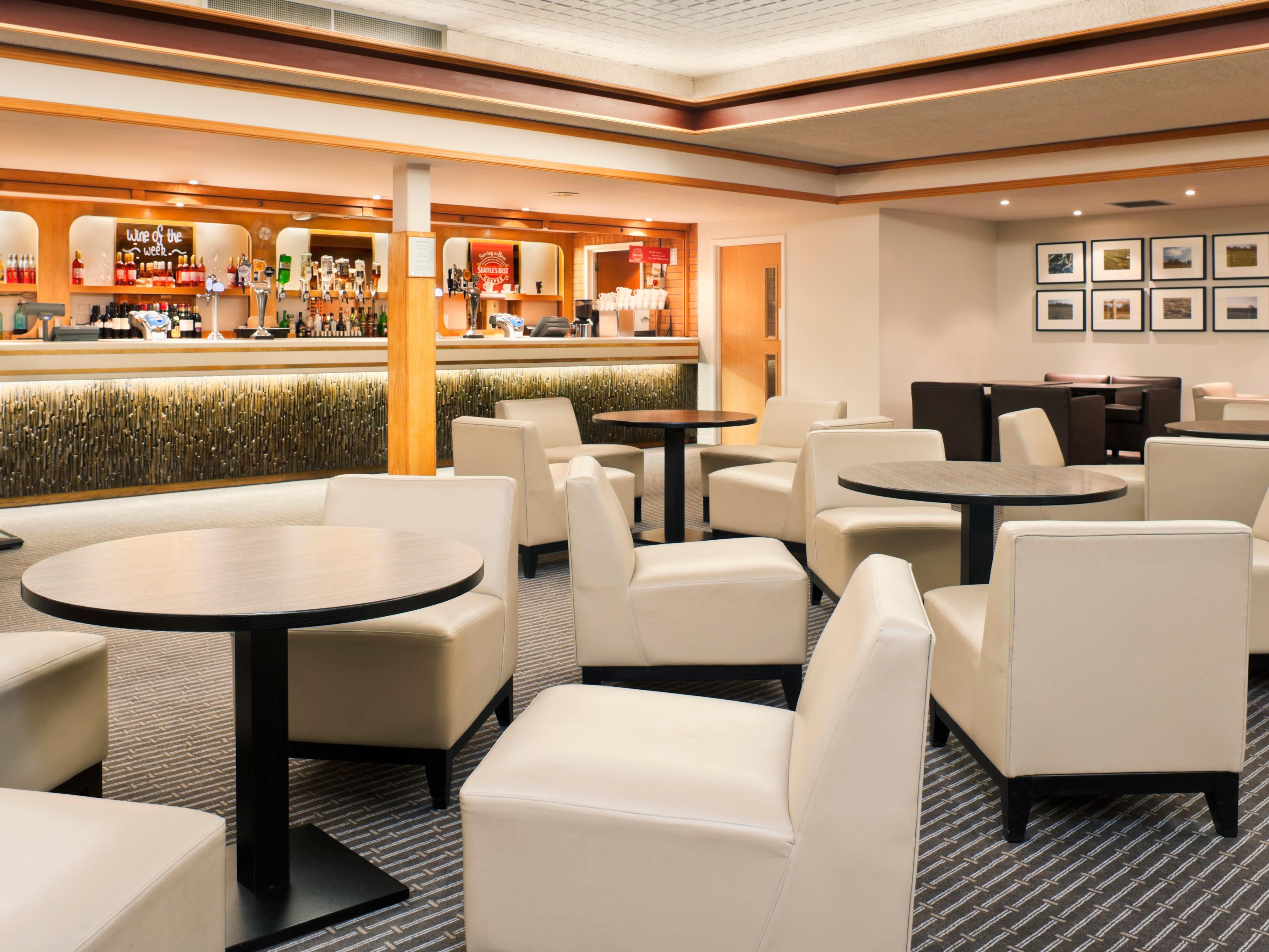 Unwind after a long day in the comfortable lounge area