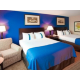 Holiday Inn Timonium Double Bed Guest Room