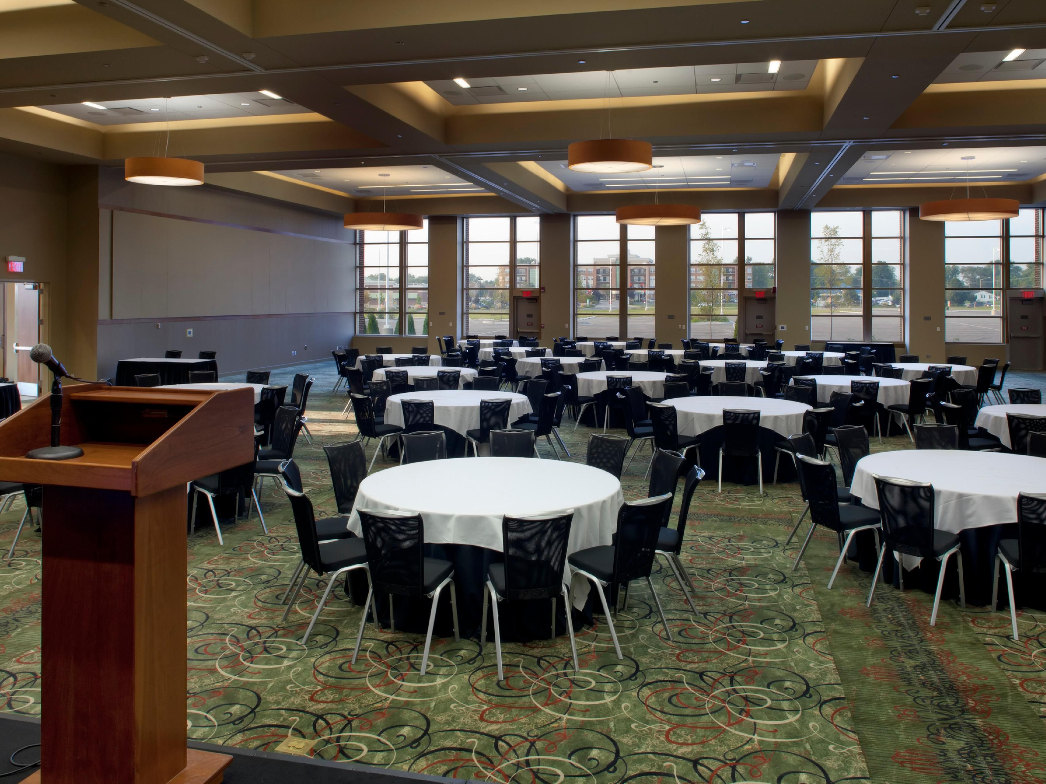 Tinley Park Convention Center Banquet Room