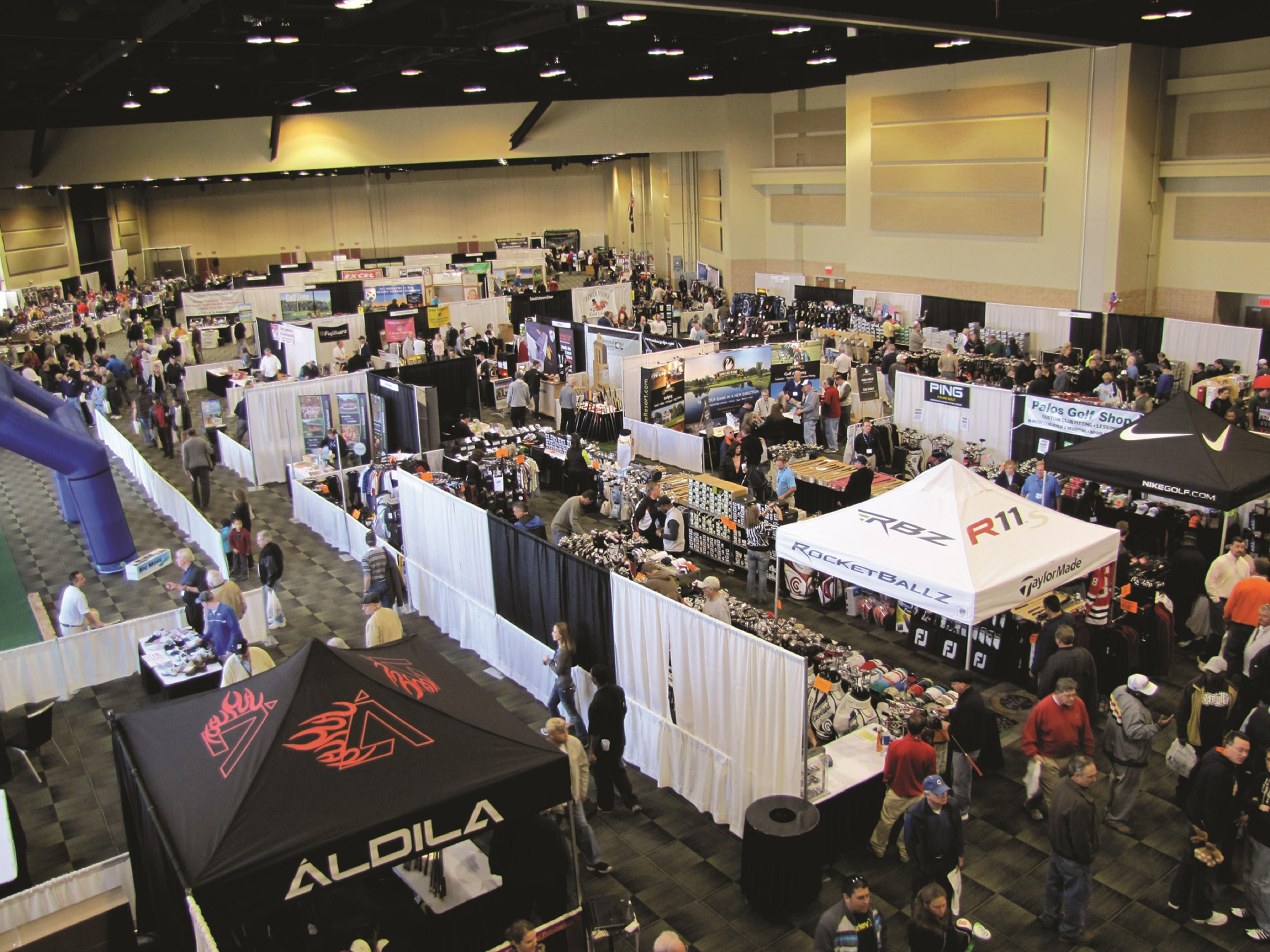Tinley Park Convention Center Exhibit Hall