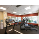 Get your work out routine in the privacy of our fitness center!