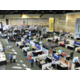 Overview of Tinley Park Convention Center exhibit hall