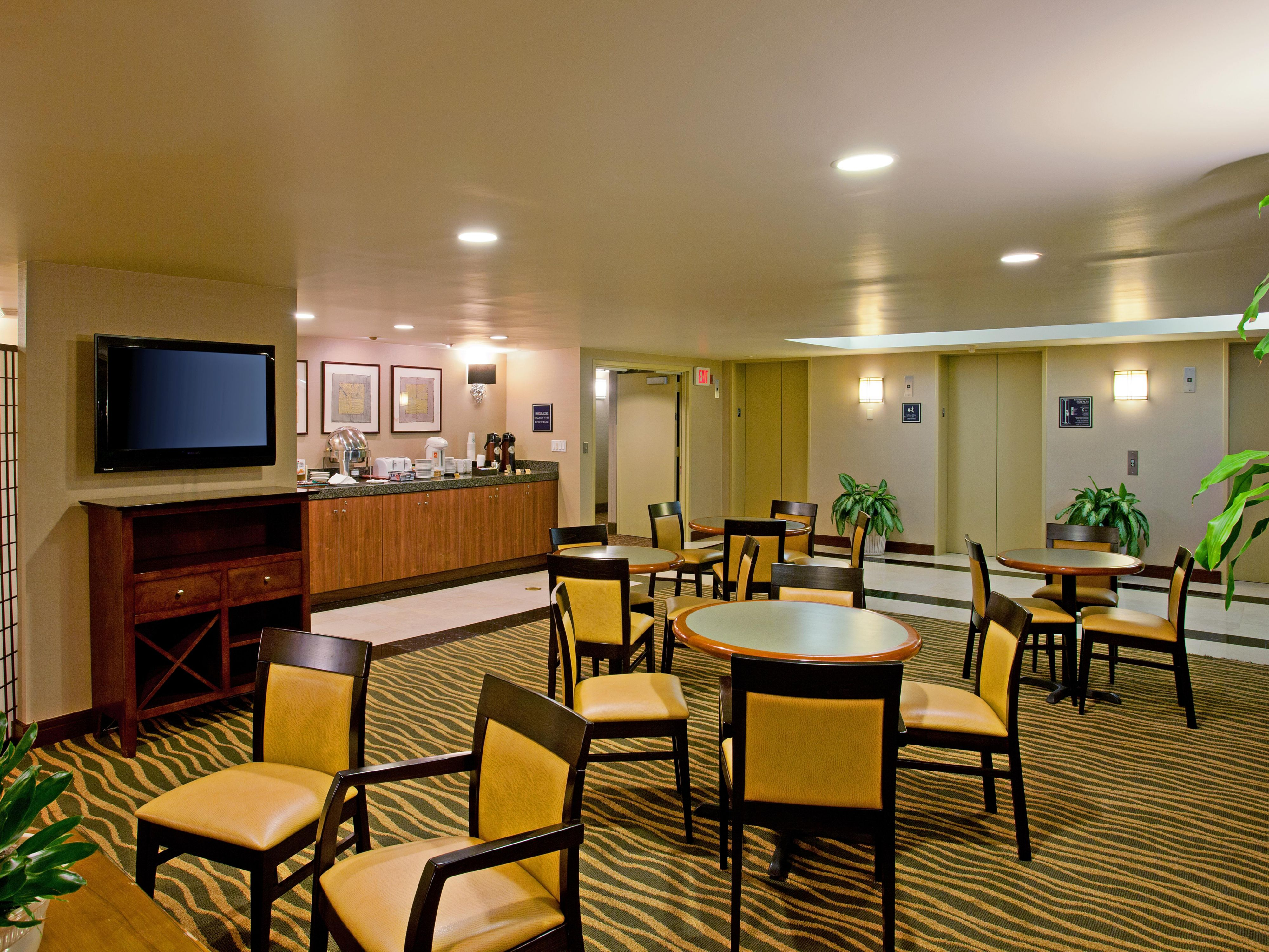 Executive floor rooms with upgrade amenities available