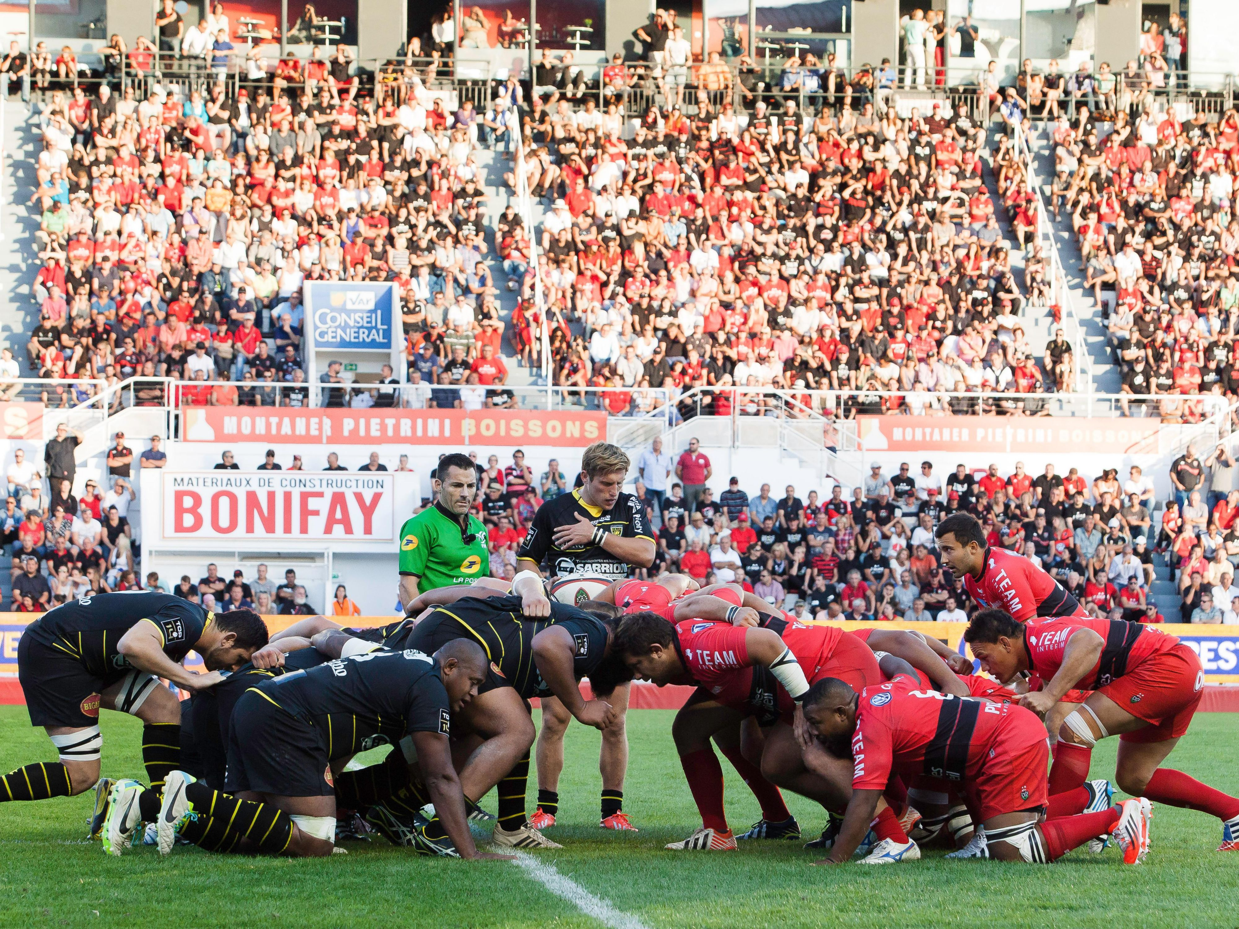We are proud of our rugby team the RC Toulon