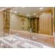 Spacious bathroom with bath