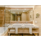 Bathroom with essential amenities