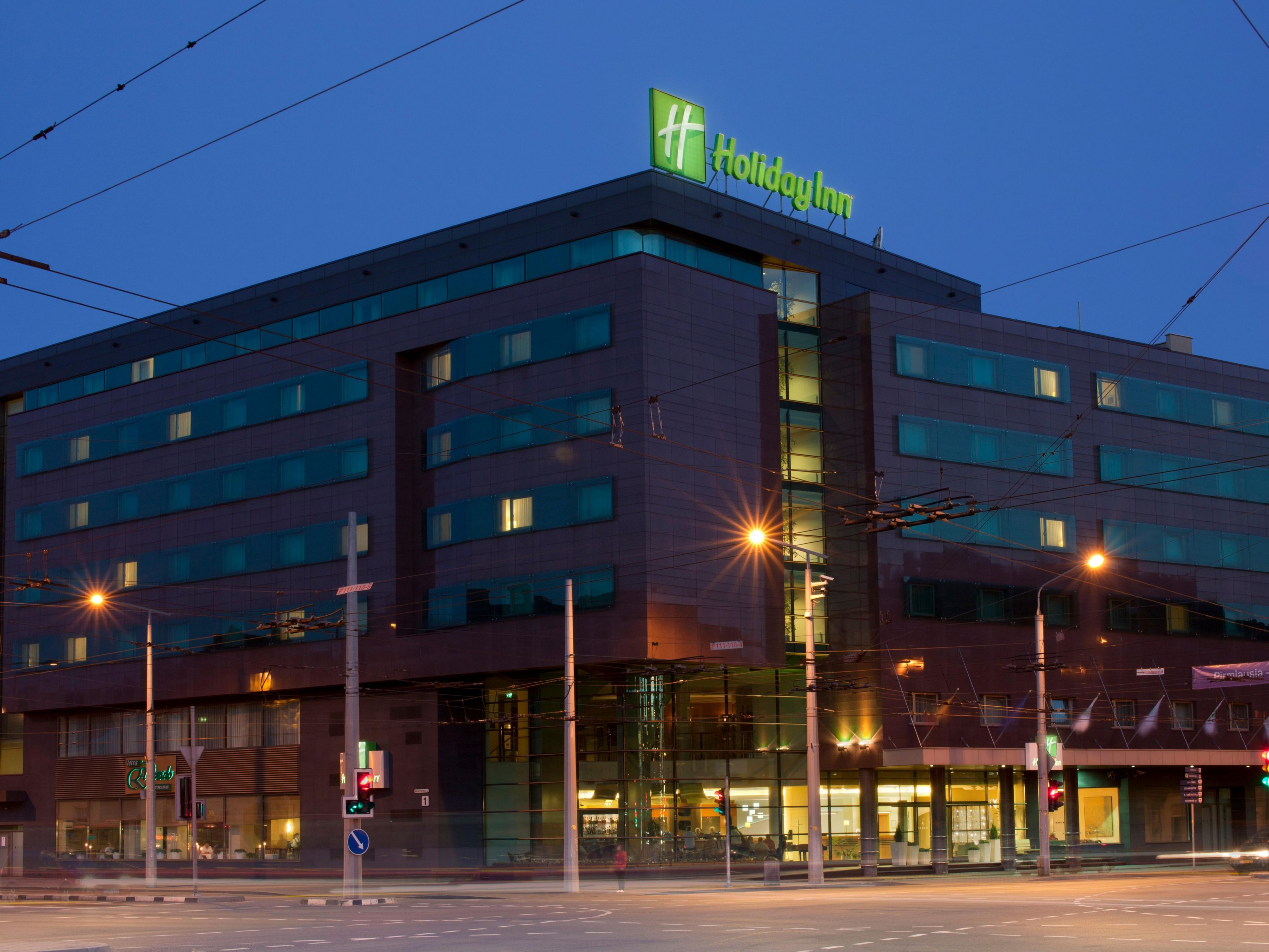 Vilnius Hotels Map Vilnius Hotels Holiday Inn