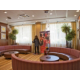 Hotel lobby with Wax figure