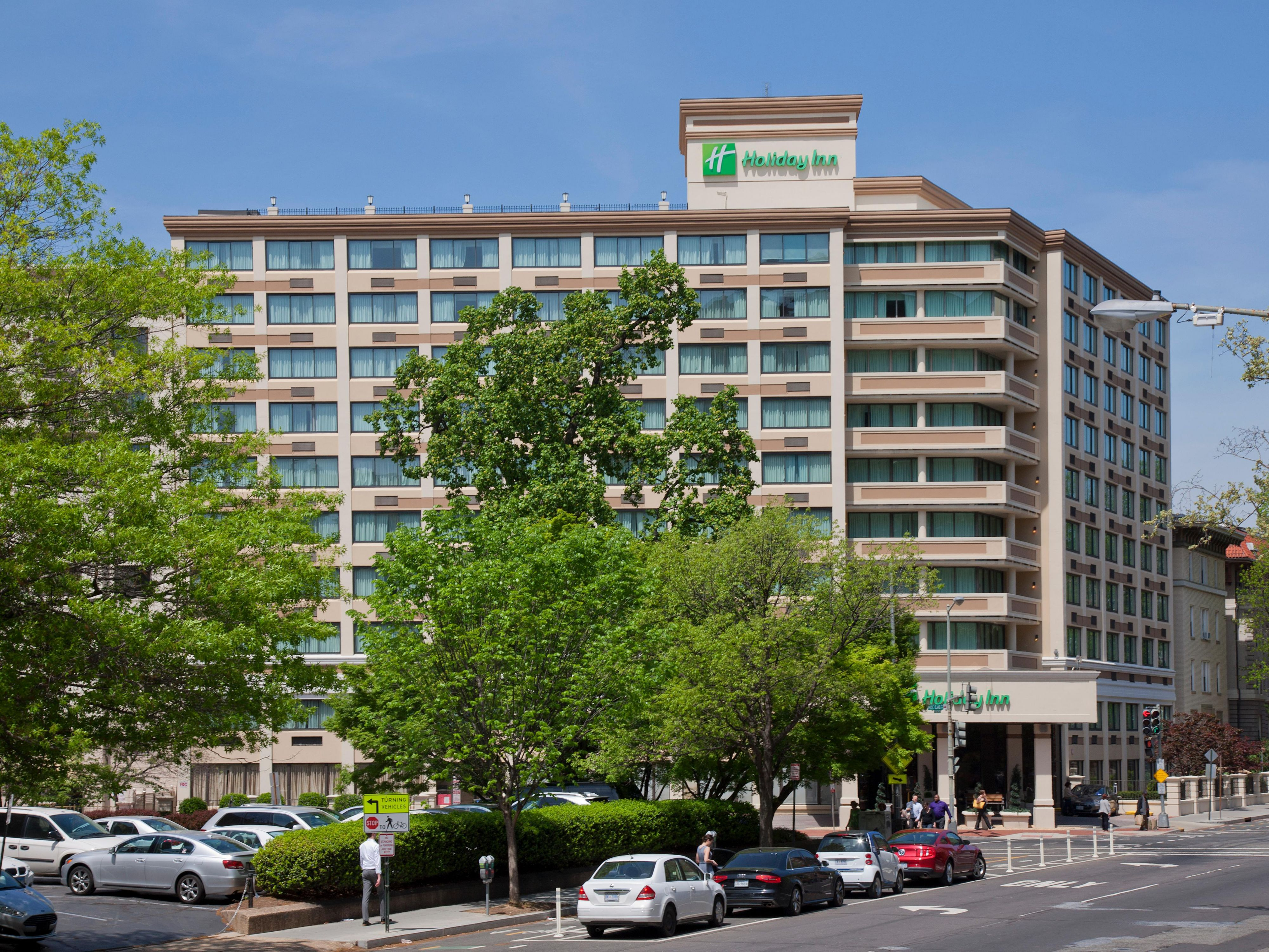 Massachusetts Avenue, NW Hotel Exterior shot