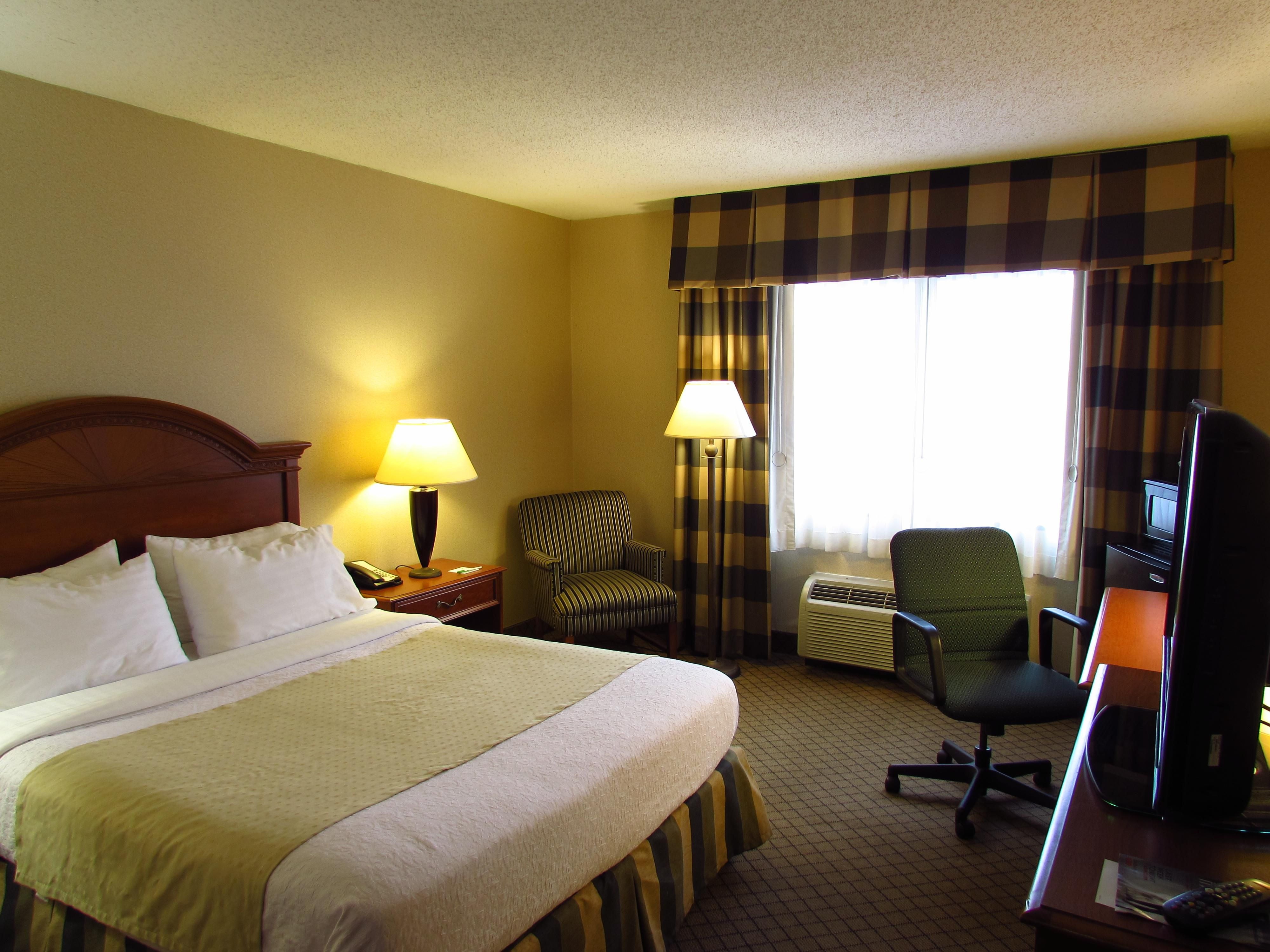 Handicap Accessible Single Queen Guest Room