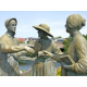 Three Ladies Statue in Seneca Falls, NY