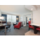 King Executive Suites featuring living space and a kitchenette.