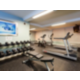 Expanded fitness center with Treadmill, Eliptical and Free Weights