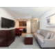 Beautiful, modern King Bed Executive Suites with Sleeper Sofa.
