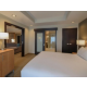 King size bed in Executive Suite