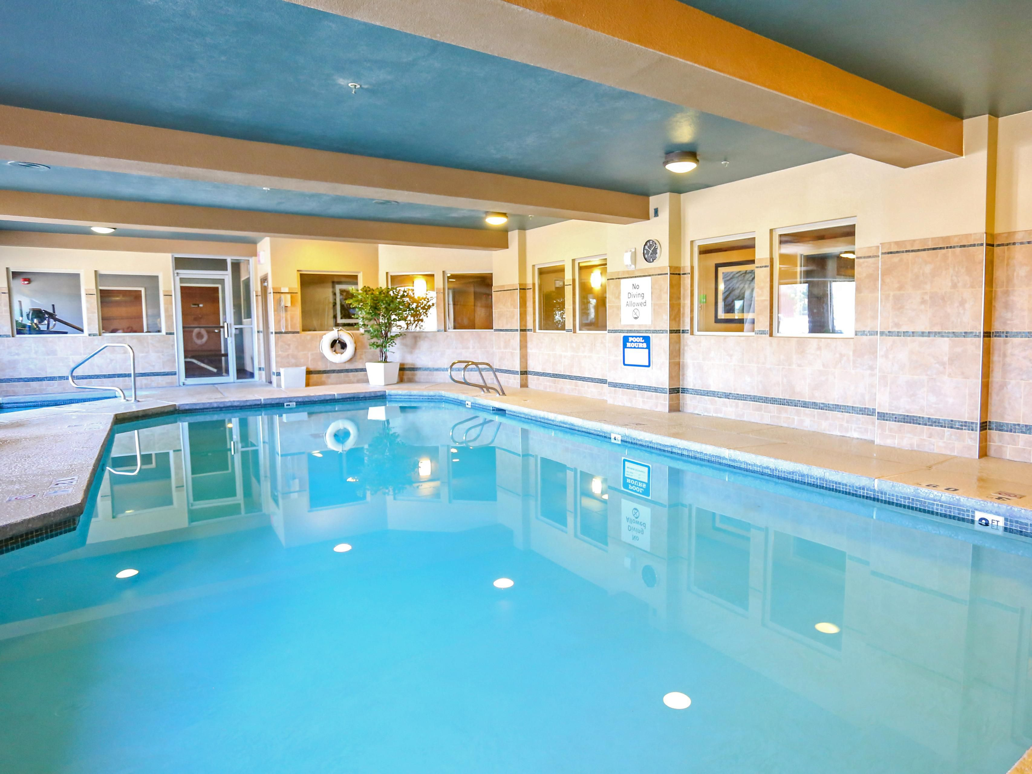 Indoor heated swimming pool at the Holiday Inn West Yellowstone