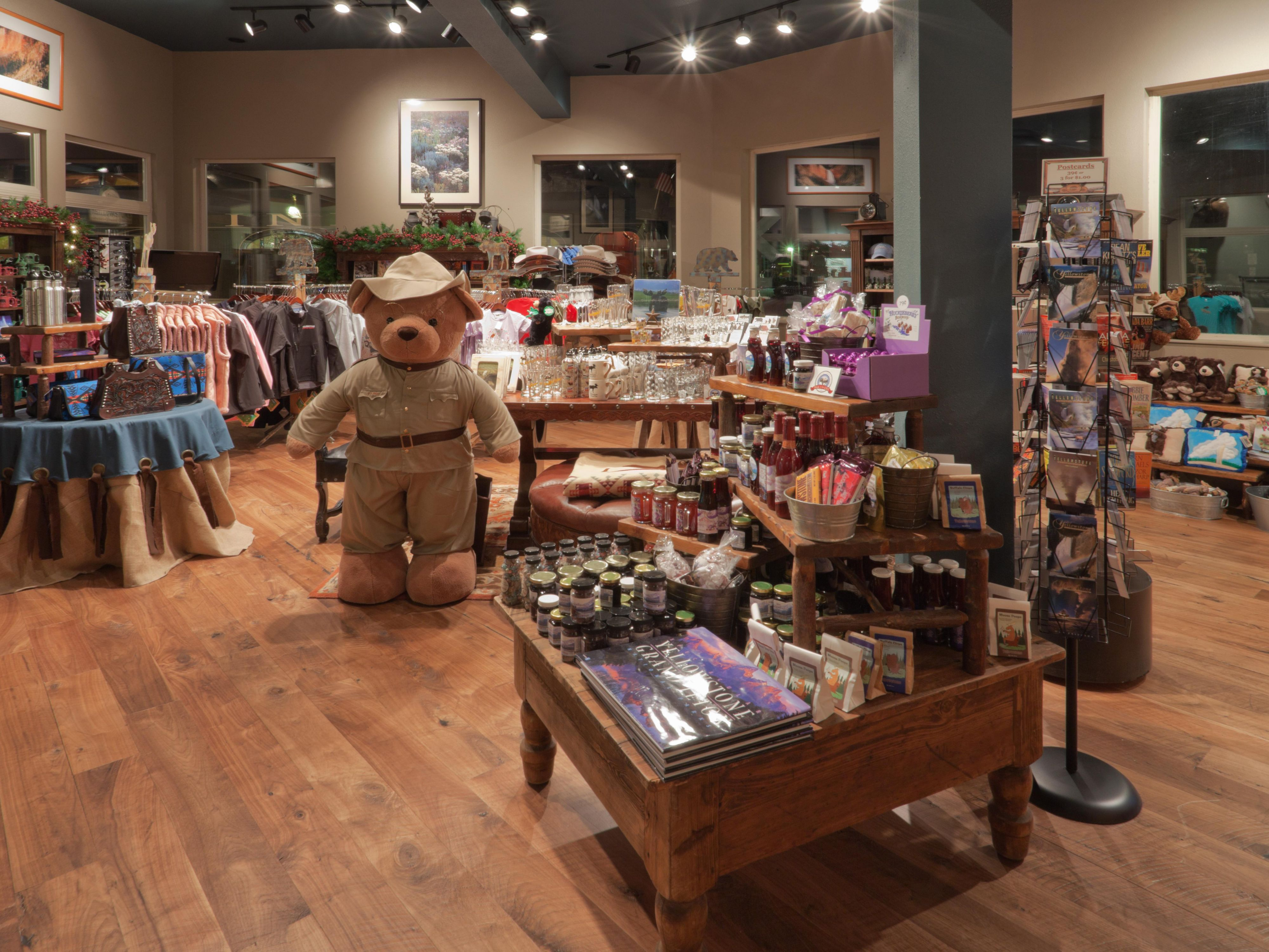Shop at Geyser Gifts in West Yellowstone for a perfect souvenir