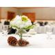 A beautiful Holiday Inn West Yellowstone banquet centerpiece