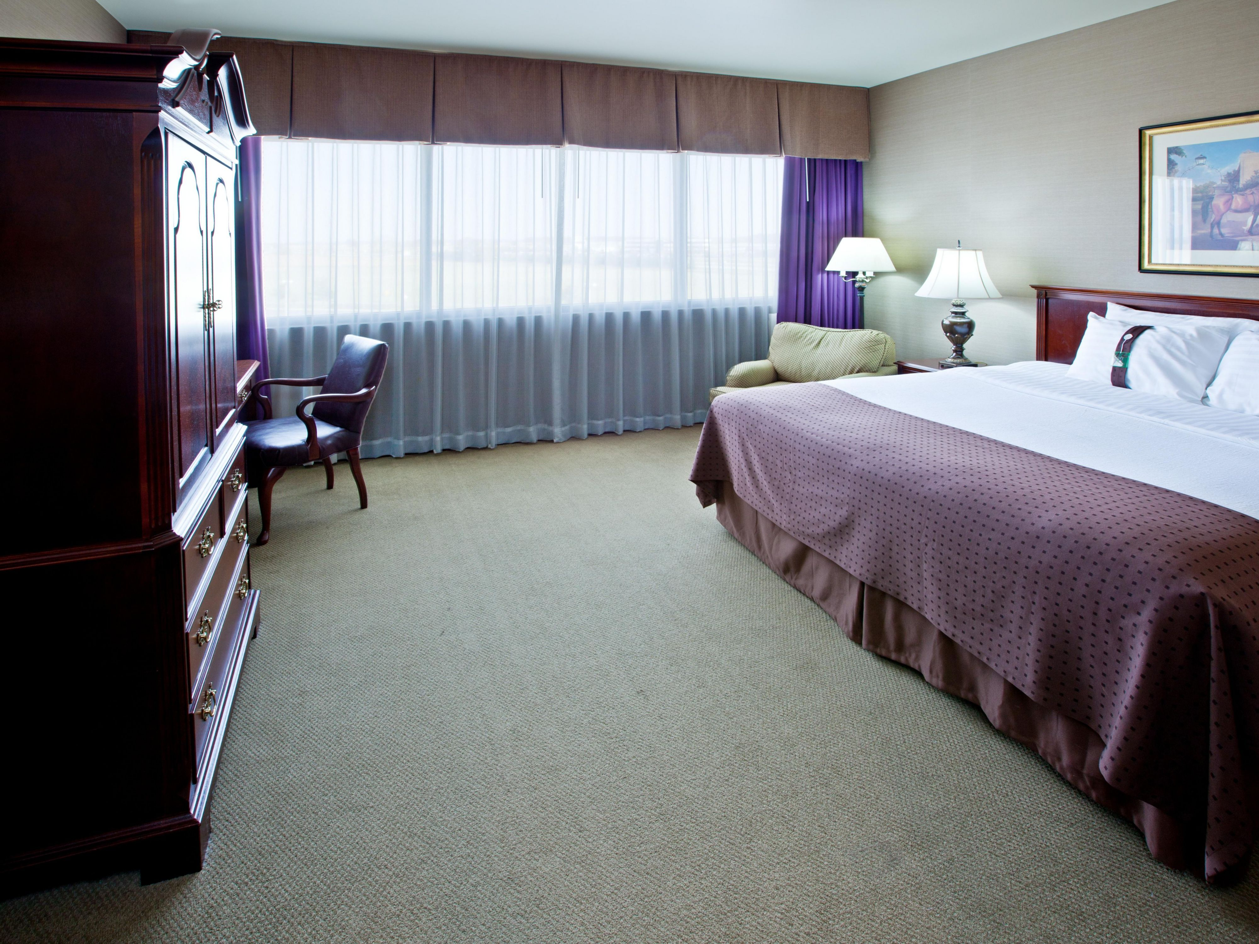 King Bed Guest Room