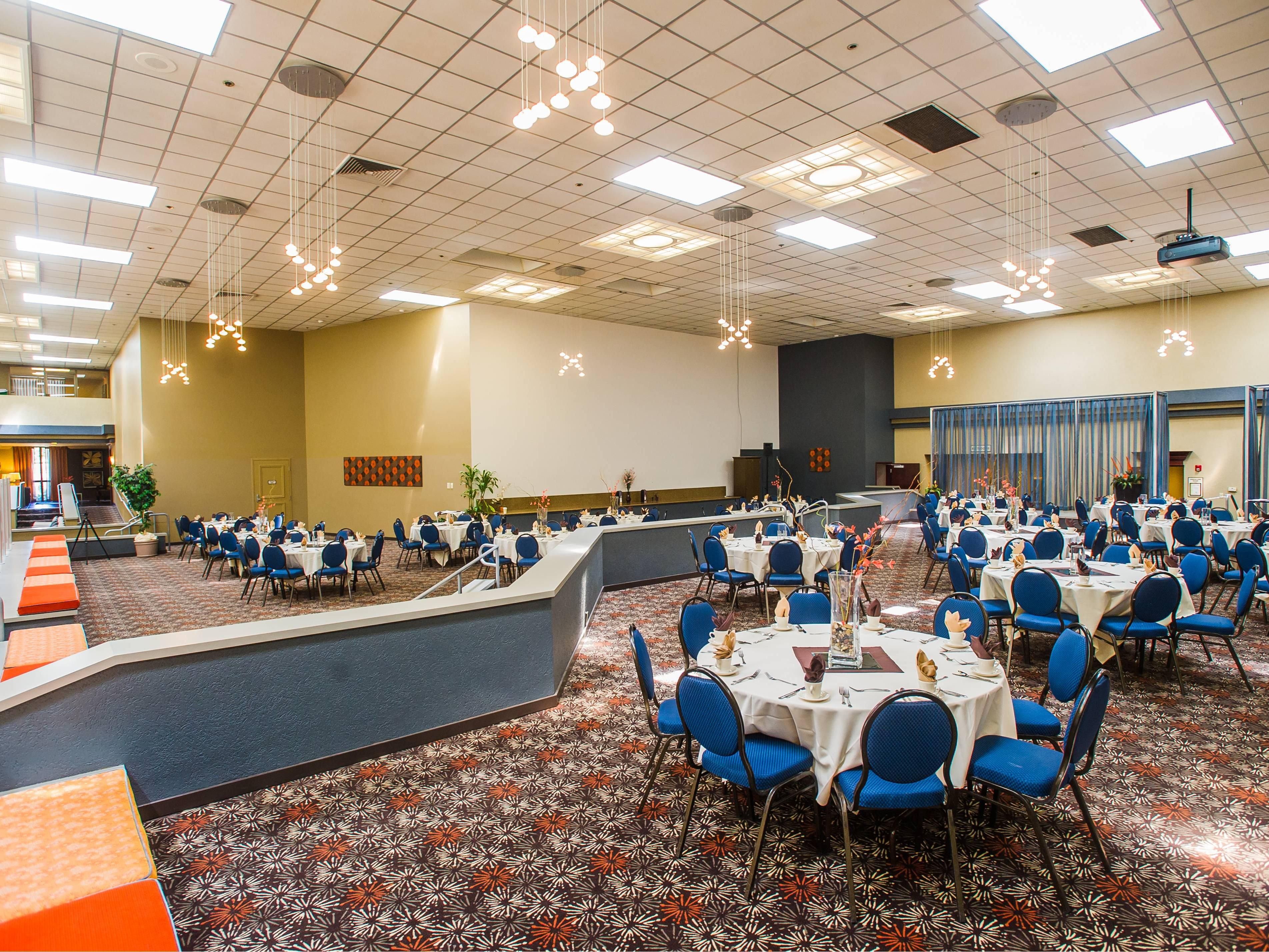 Indoor Terrace is perfect for meal functions or exhibits