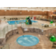 Overview of the Pool Area with our Pool and Kiddie Pool