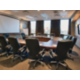 Boardroom with Built in Projector Screen