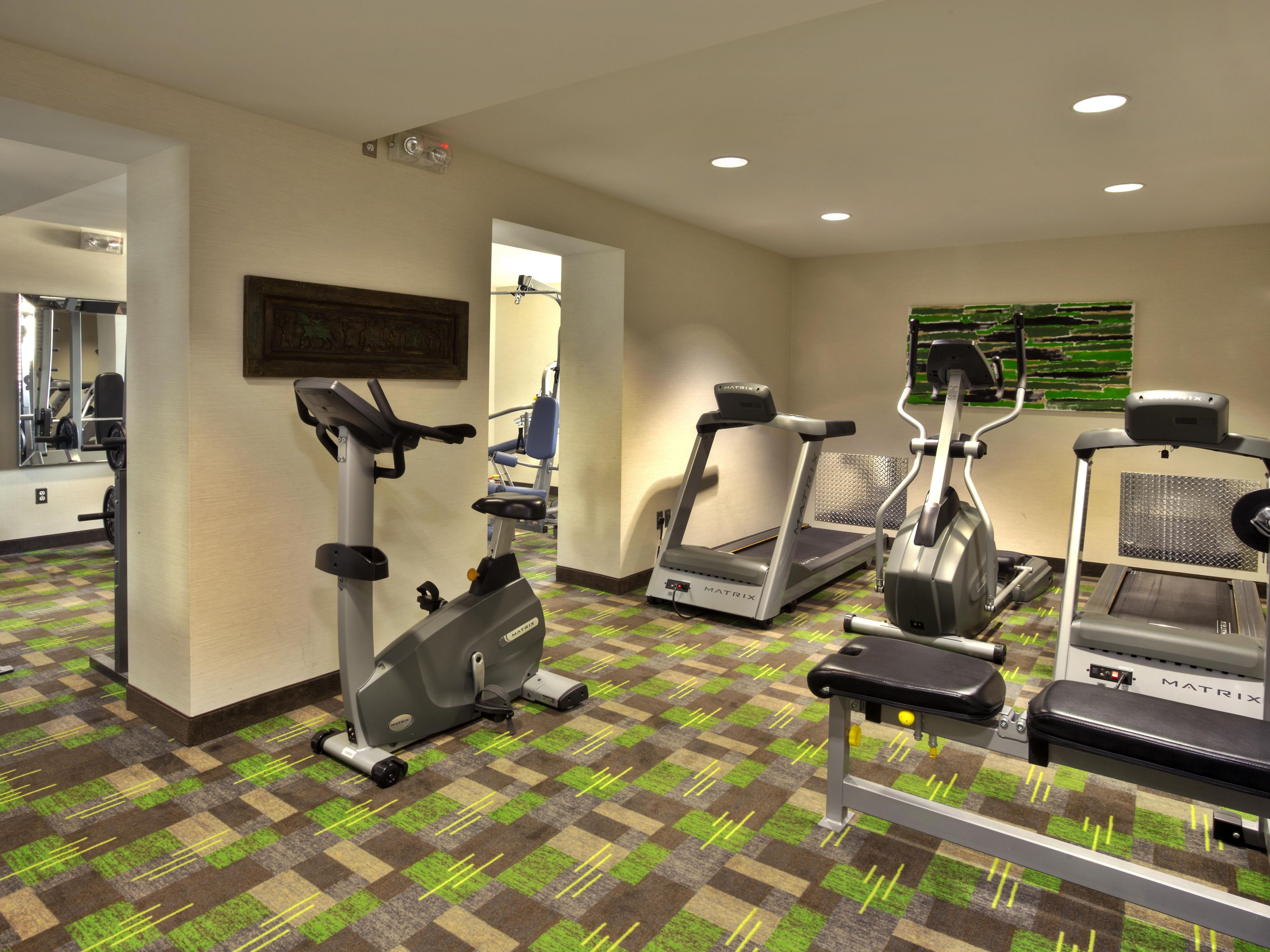 Fitness Center Featuring State of the Art Equipment