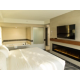 Jacuzzi Suite Bedroom with fireplace and Jet tub