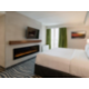 2 sided fireplace in Jacuzzi Suite
