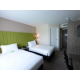 Twin bedded room - air conditioned