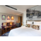 Fresh design, vibrant colours, plush bedding and hardwood floors.