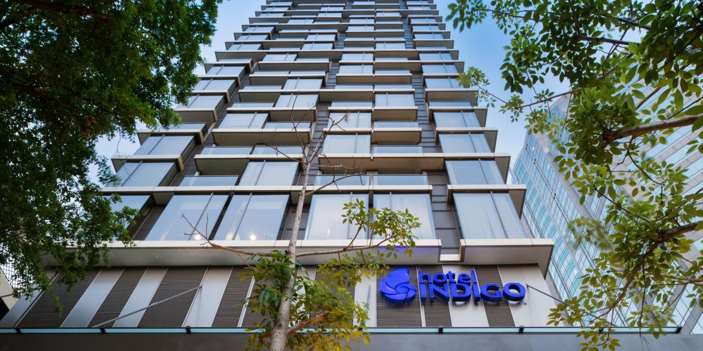 Bangkok hotels hotel indigo bangkok wireless road hotel for Design hotel road