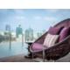 Soak up the beautiful view of Bangkok city