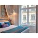 Illuminated Superior Room with large windows