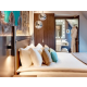 Duplex Suite w/ sofabed Bedroom inspired by Parisian architecture