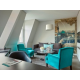 Edouard VII 2-bedroom Duplex Suite with sofabed - Living room