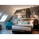 Edouard VII 2-bedroom Duplex Suite with sofabed - Double Bedroom