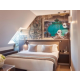 Duplex Suite with view on Eiffel Tower - Cosy Bedroom