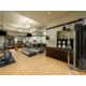 The Fitness Center offers a clean and comfortable workout space