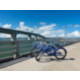 Take in the scenery during a bike ride through the city