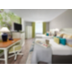 The Double Guest  Room features chic, clean interior