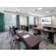 The Gulf Room hosts meetings and banquets