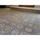 Hotel Indigo Traverse City Logging Stamp Carpet Lobby Living Room