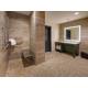 Hotel Indigo Guest Accessible Roll In Shower Bathroom