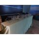 Selección de bebidas y catering