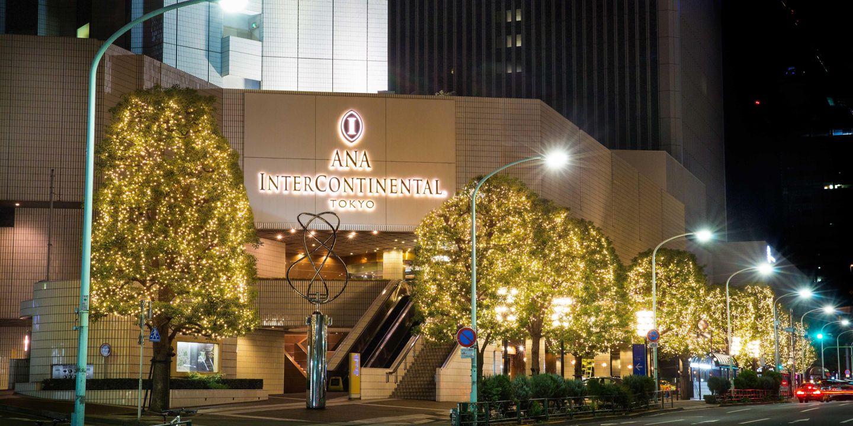 Tokyo Luxury Hotel In Tokyo Japan Intercontinental