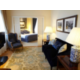 Presidential Suite with private lounge and separate living area