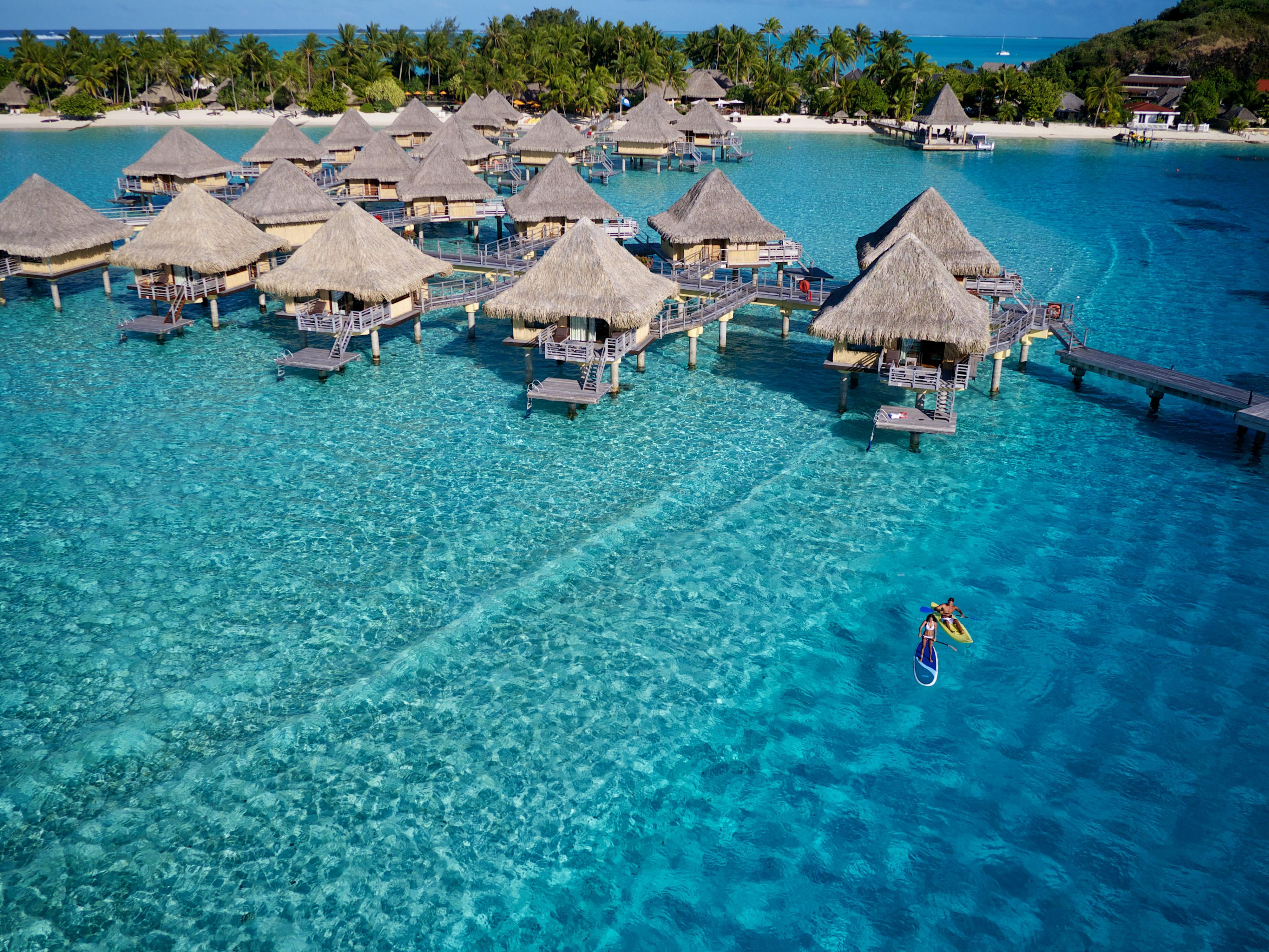 Intercontinental Le Moana Bora Bora Bora Bora Polyn 233 Sie Fran 231 Aise