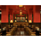 Enjoy a cocktail in a chic and elegant atmosphere.
